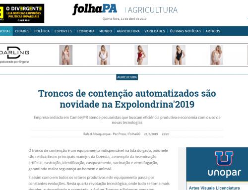 Troncos de contenção automatizados são novidade na Expolondrina'2019
