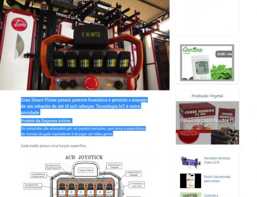 Negócios do Campo: Gran Smart Prime com controle remoto